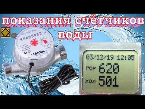 показания счетчиков воды, передача показаний счетчиков воды