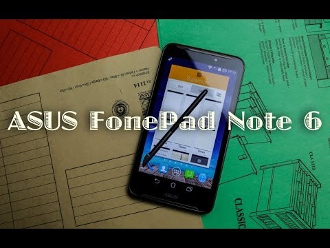 ASUS FonePad Note 6 - обзор смартфона от Keddr.com