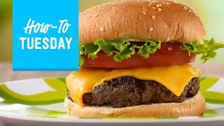 How to Grill the Perfect Burger   Food Network
