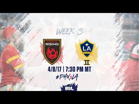 USL LIVE - Phoenix Rising FC vs LA Galaxy II 4/8/17