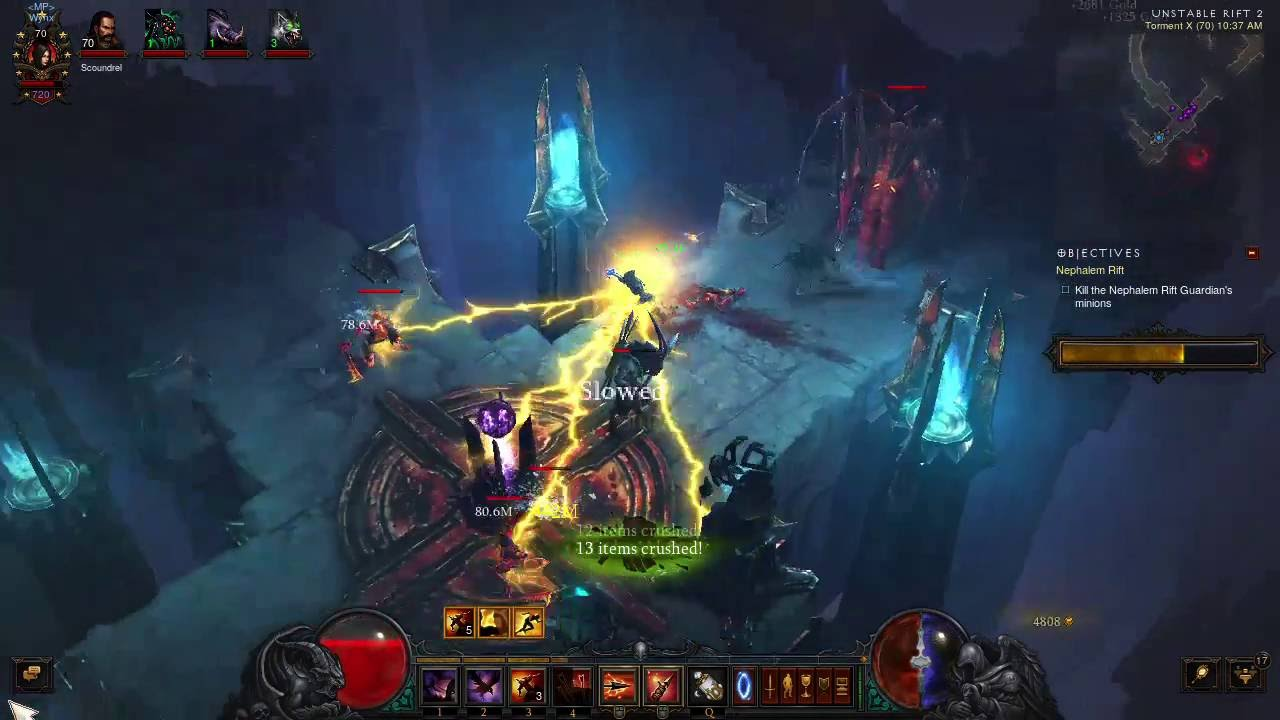 Diablo  Demon Hunter Torment Build