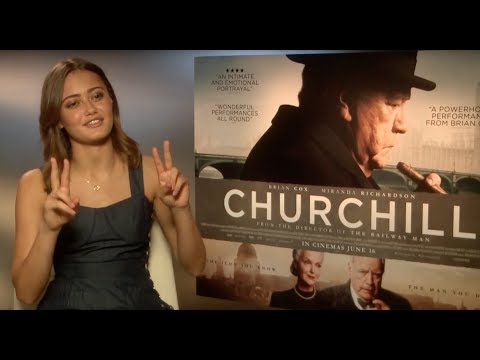 Ella Purnell on Churchill - EXCLUSIVE INTERVIEW