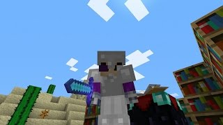 MINECRAFT EXTREMO 100%: ENCANTAMIENTOS Y AL NETHER! #3