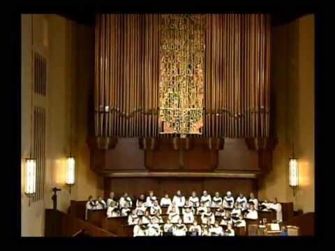 """Thanks Be to God from Mendelssohn's """"Elijah"""""""