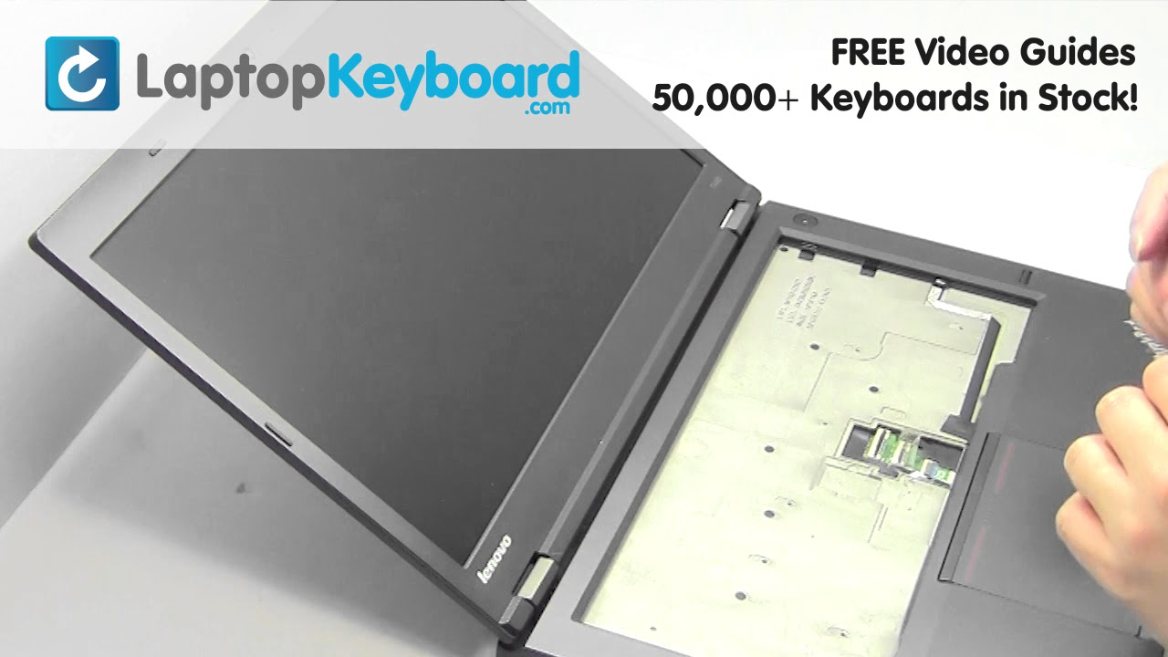 Lenovo ThinkPad T440p Keyboard Keyboard Replacement Installation Guide T440  E440 E445