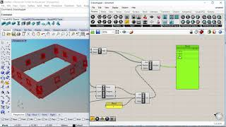 Parametric Multilevel Building with the VisualARQ Grasshopper Components