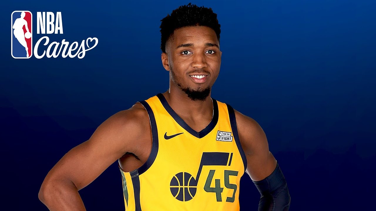 A message from Donovan Mitchell