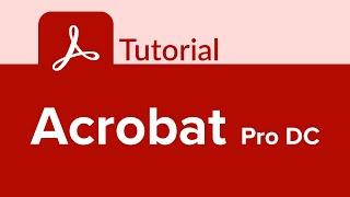 Acrobat Pro DC Tutorial