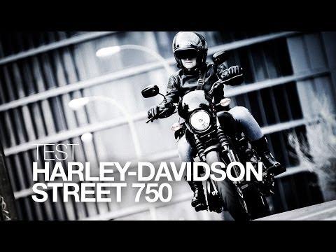 TEST | HARLEY-DAVIDSON STREET 750