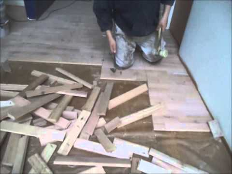 How To Remove Hardwood Floors: Easy Instructions