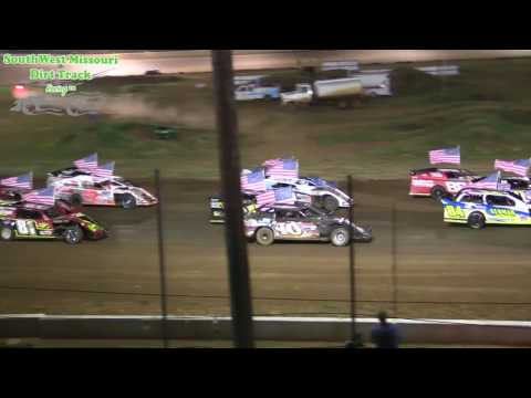 USMTS $3,000 to win Springfield Raceway A Mods A Feature Race not complete August 3, 2017