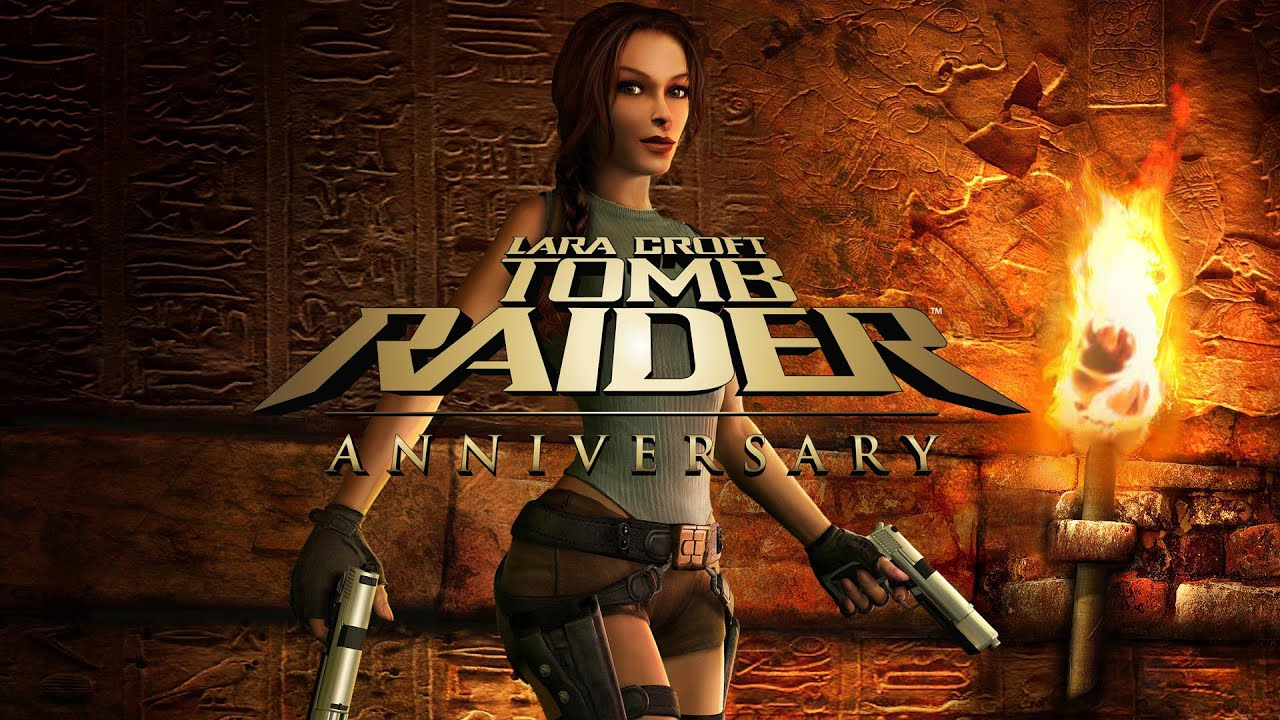 Tomb Raider Anniversary Game Movie Youtube