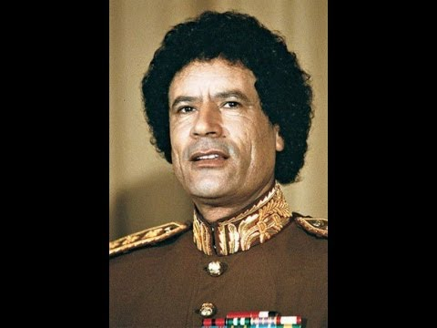 Colonel Muammar Gaddafi, The Lion Of Africa, Resists The Illuminati Beasts
