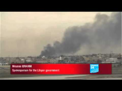 Libyan govt spokesperson Mussa Ibrahim denies attack on Benghazi
