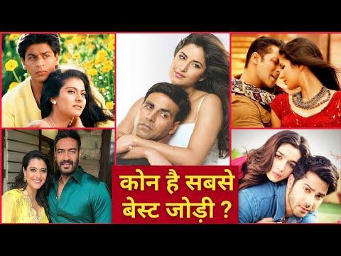 Bollywood Best Jodi  Akshay Kumar Katrina Kaif Varun Dhavan Alia Bhatt Salman SRK Ajay Devgan