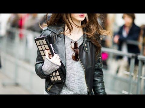 Купить пиджак кожаный женский