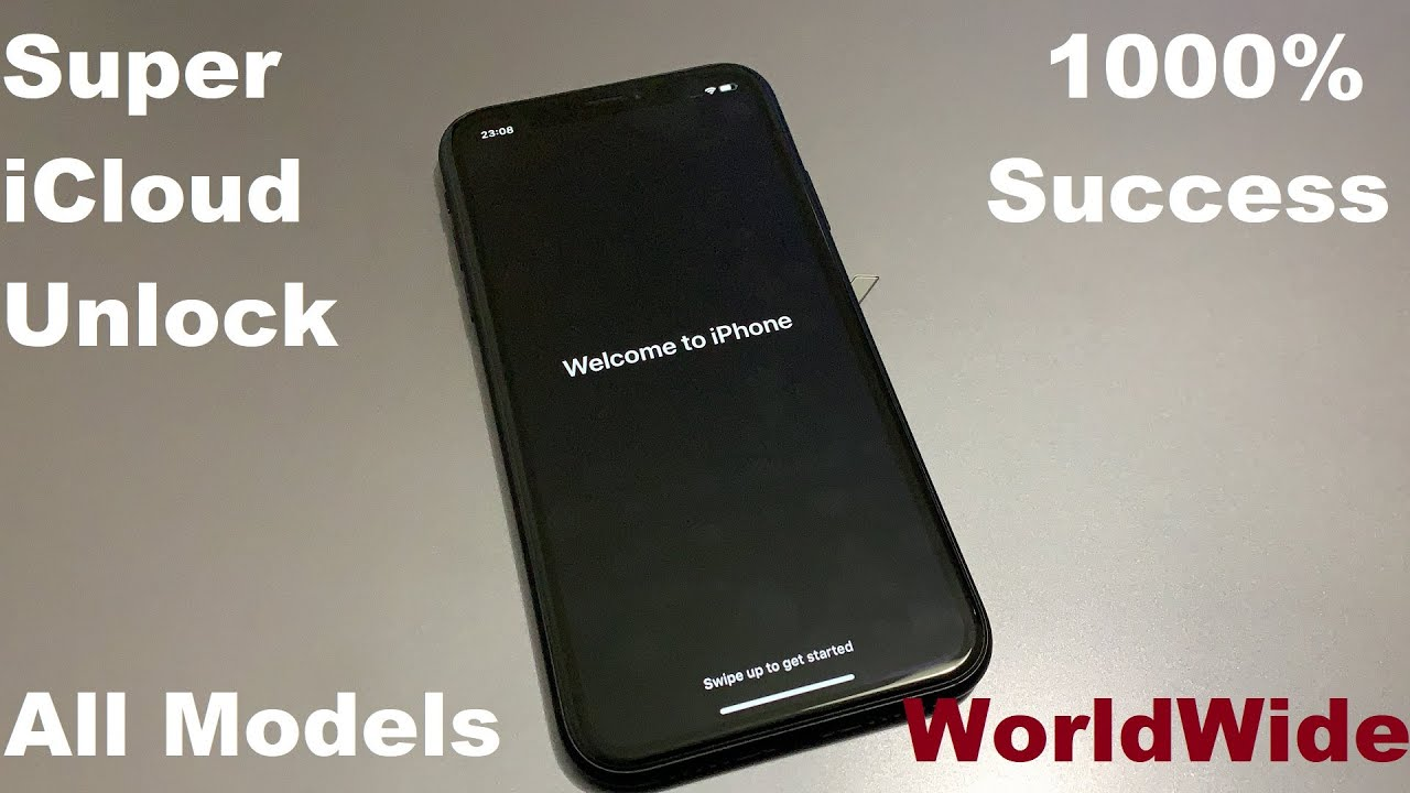 Super iCloud Unlock!! 1000% Working Unlock Activation Lock iPhone Disable Apple ID Any iOS 13.3