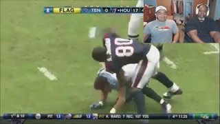 Dad Reacts to NFL Ejections!
