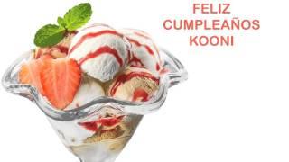 Kooni   Ice Cream & Helados