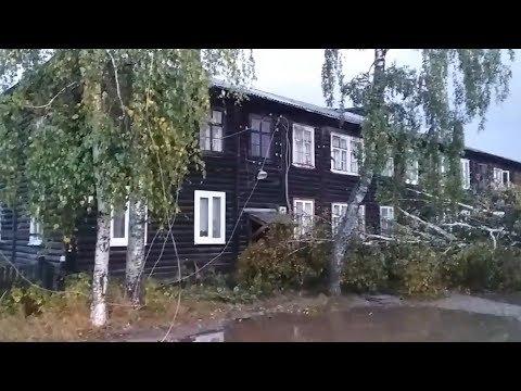 Ураган в Красновишерске