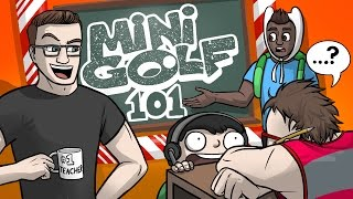 HOW TO: MINIGOLF!! - Golf With Friends Gameplay Funny Moments