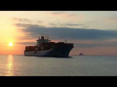 MAERSK BROOKLYN CONTAINER SHIP in Limassol Cyprus