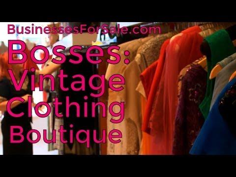 Vintage Clothing Boutique | Bosses