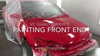 Car painting base, clear coat and blend  - www.VC-QS.com