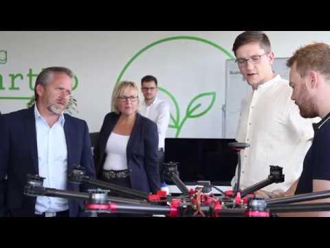 Udenrigsminister Anders Samuelsen besøger Insero