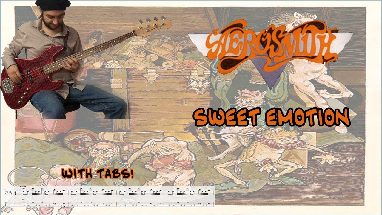 Aerosmith Sweet Emotion Bass Cover Tabs And Sheet Youtube