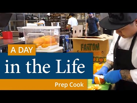 A Day In The Life Of A Prep Cook