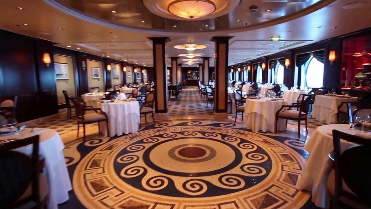 Celebrity Constellation - Ocean Liners Restaurant review