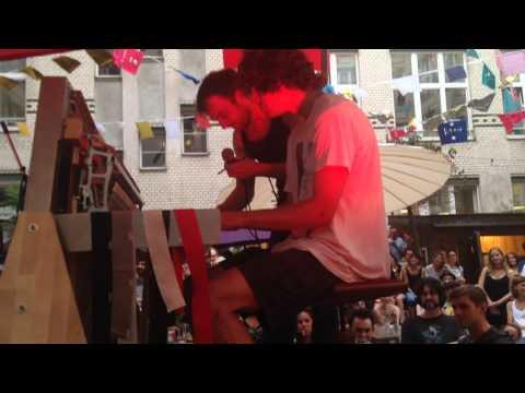 Tom Adams feat. Nils Frahm on the Klavins Una Corda Piano in Berlin June 10, 2014