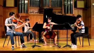 Evanescence - My Immortal (piano quartet version, ft. Jun Sung Ahn)