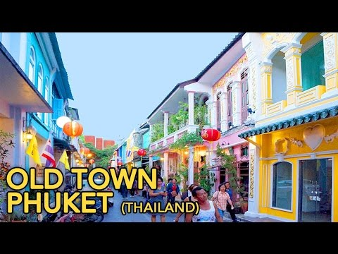 Phuket Old Town, Thailand - Walk in the old city part