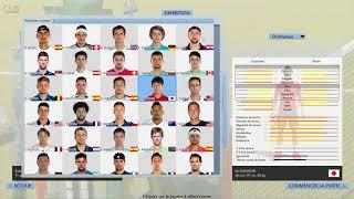 Full Ace Tennis Simulator 2017 |  Découverte | Nadal vs Federer