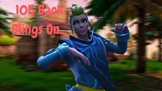 *NEW* ALL OF MY BACK BLINGS ON VEGA SKIN SHOWCASE (Fortnite season 9 skin)