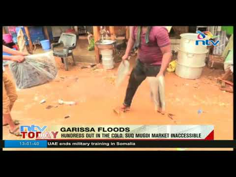Hundreds out in the cold following floods in Garissa