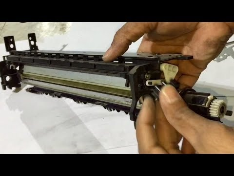 how to replace drum and blade on canon ir3300, ir2200