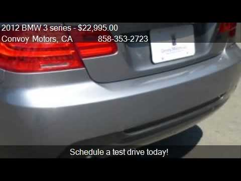 2012 BMW 3 series 328i Coupe - SULEV - for sale in San Diego