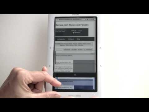 Barnes & Noble nook 1.3 Software Update Demo