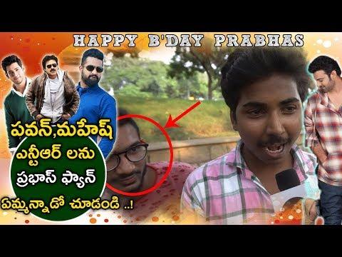 Prabhas Fan Sensational Comments On Pawan...