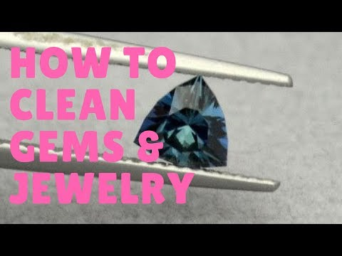 How to Clean Jewelry, Gem Stones, and Precious Metals in Your Collection