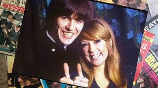 ♫ George Harrison and Pattie Boyd portraits at their home, Kinfauns - 1966