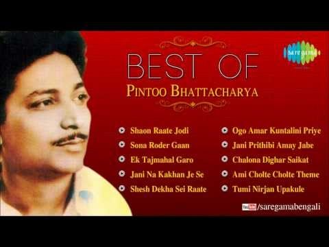 Best of Pintoo Bhattacharya | Shaon Raate Jodi | Bengali Songs Audio Jukebox