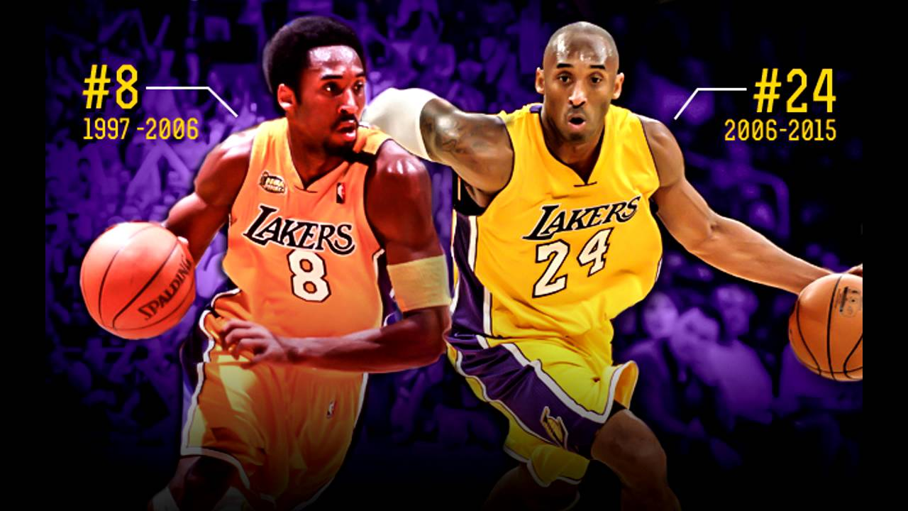 7a41faf50 Should The Lakers Retire Number 8 or Number 24 For Kobe Bryant ...
