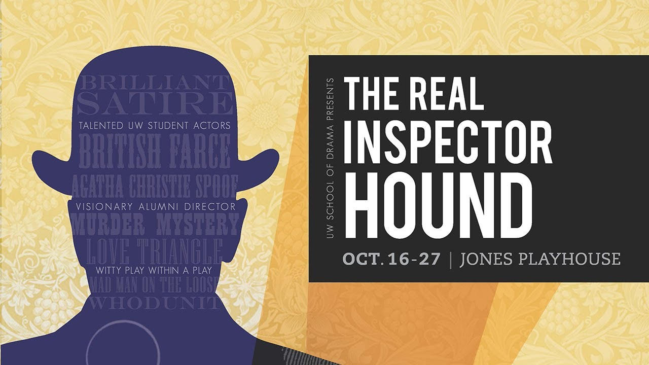 an analysis of the melodrama the real inspector hound Tom stoppard's the real inspector hound is a parody of the melodramatic thriller point-of-view: usually a close-up of one character, followed by whatever is supposed to be seen by him/her.