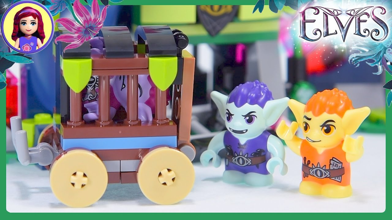 Lego Elves Magic Rescue From The Goblin Village Part 2