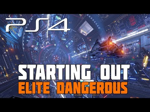 Elite Dangerous - Starting Out After the First Mission (PlayStation 4 Gameplay)