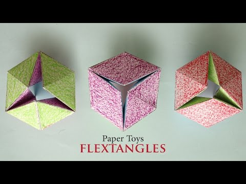 How To Make: Flextangles - DIY Paper Toys